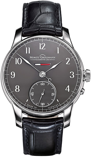 Moritz Grossmann BENU Power Reserve White Gold grey dial