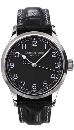 Dornblüth & Sohn Center Second Black Dial