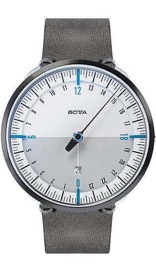 Botta-Design UNO 24 Plus Quartz white-blue