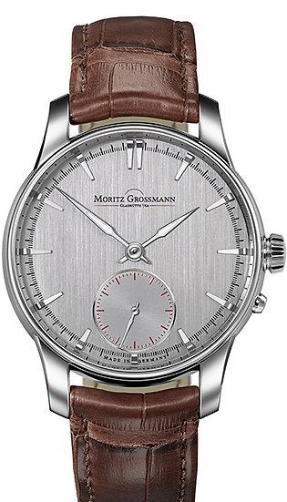 Moritz Grossmann ATUM Pure Steel grey dial