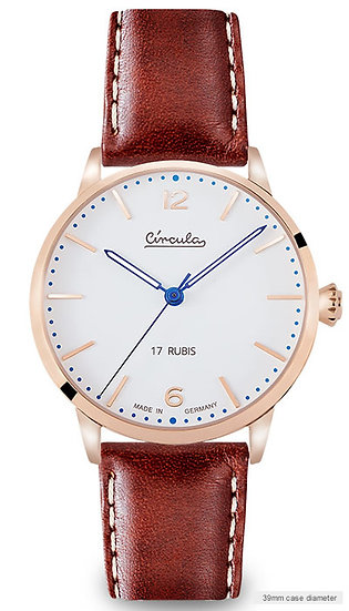 Circula 1955 Heritage Hand-Wound Rose Gold