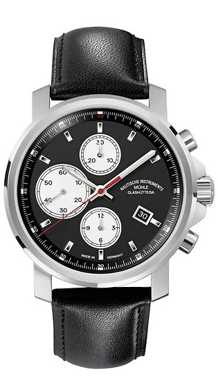 Mühle-Glashütte 29er Chronograph black dial M1-25-43-LB
