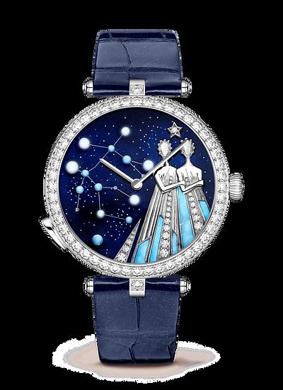 Van Cleef & Arpels Lady Arpels Zodiac Lumineux Gemini Watch