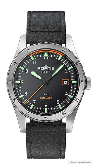 Fortis Pilot F-41 – Leather strap