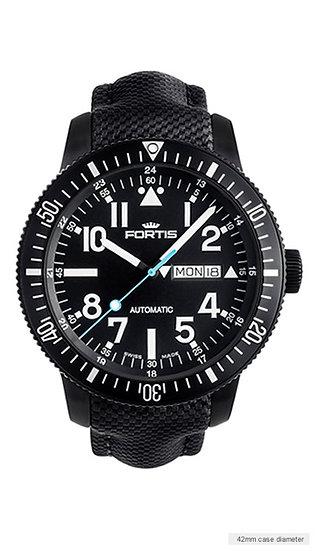 Fortis Diver Black