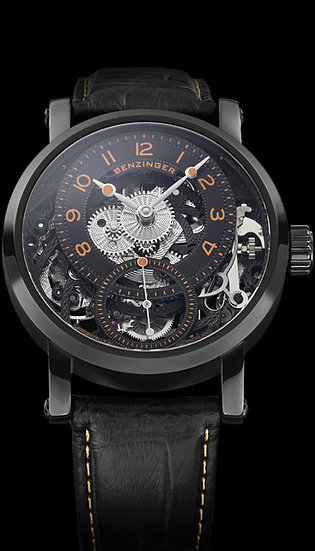 Benzinger Subscription IV Black-Orange