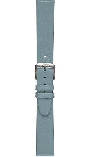 Sinn calf leather strap, blue-grey, 18mm