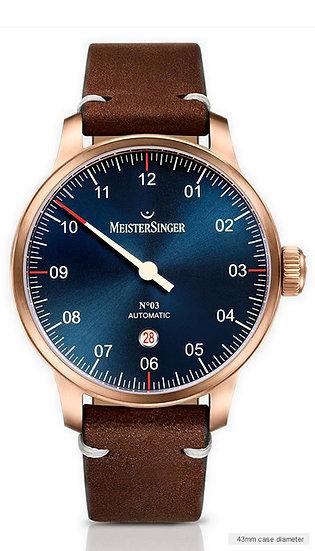 MeisterSinger No 03 Bronze Line AM917BR