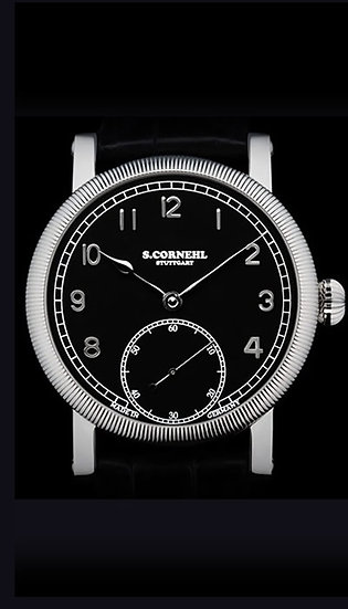Cornehl Classic Black 40mm