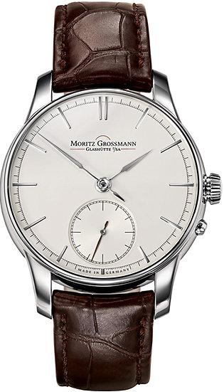 Moritz Grossmann ATUM White Gold silver dial