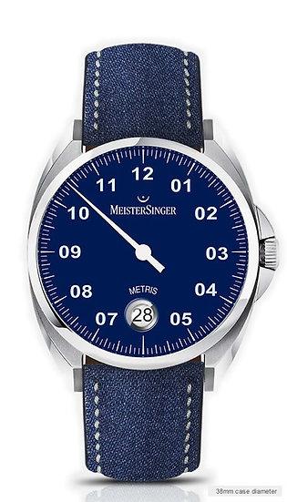 MeisterSinger Metris Blue ME908