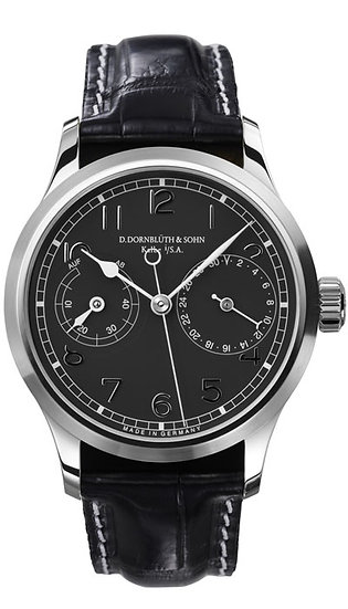 Dornblüth & Sohn 99.5 Black Dial (applied indices)