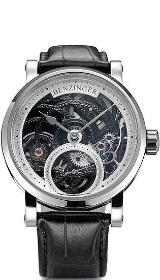 Benzinger 3/4 Skeleton Black Engine
