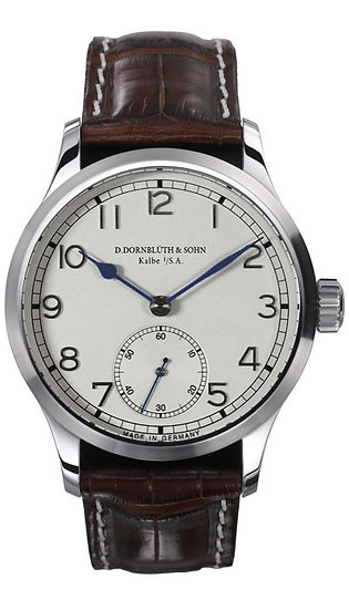 Dornblüth & Sohn 99.1 Silver Dial (applied indices)