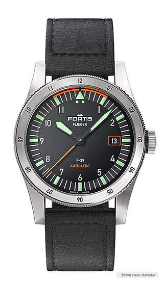 Fortis Pilot F-39 – Leather strap