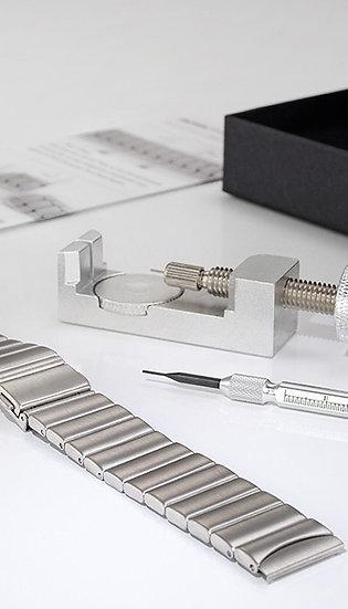 Botta-Design Stainless Steel Link Band, 20mm