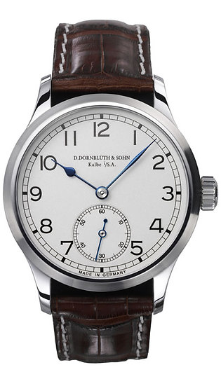 Dornblüth & Sohn 99.1 Silver Dial