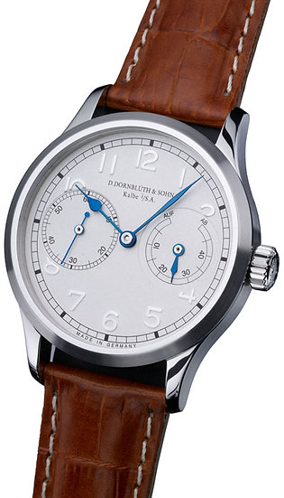 Dornblüth & Sohn 99.2 Silver Dial (applied indices)