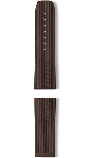 Hanhart vulcanised rubber band, brown, 24mm