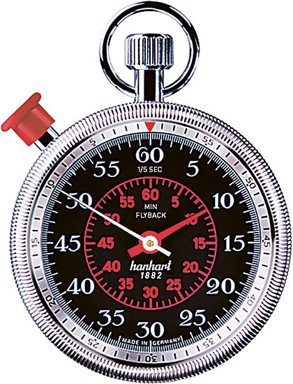 Hanhart MegaMinute Addition Timer with Flyback 185-8760-8E