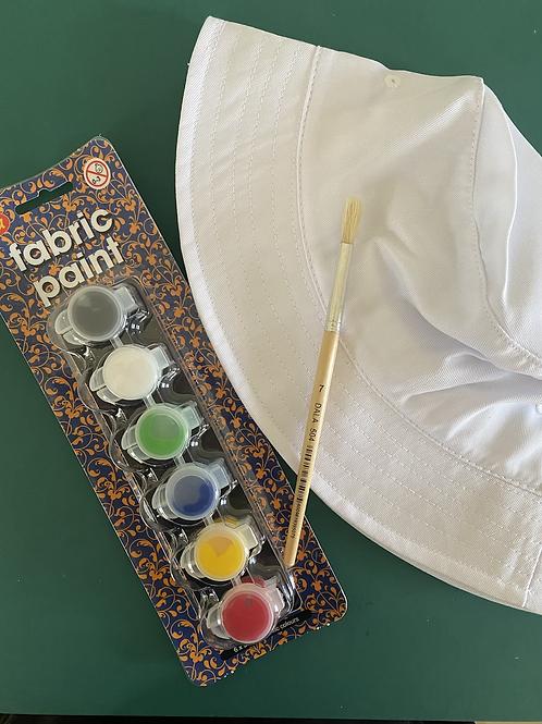 Hat painting kit