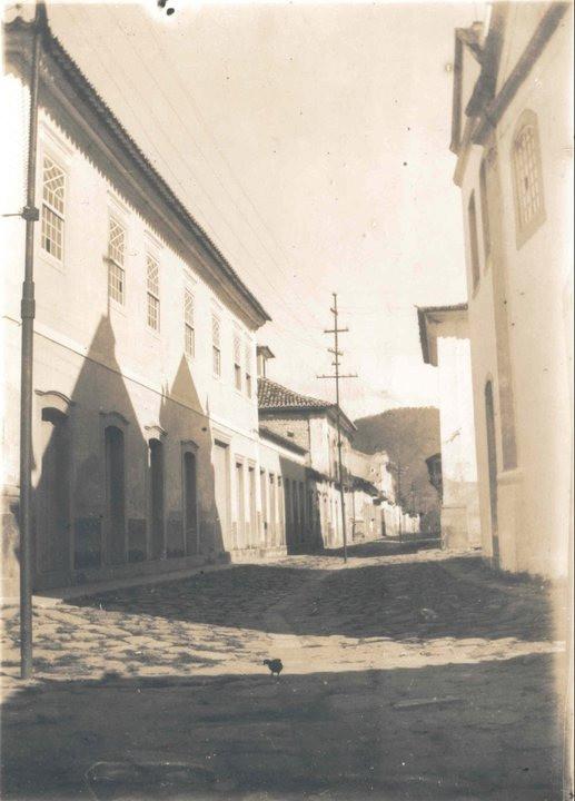 Rua do Comércio, por volta de 1930