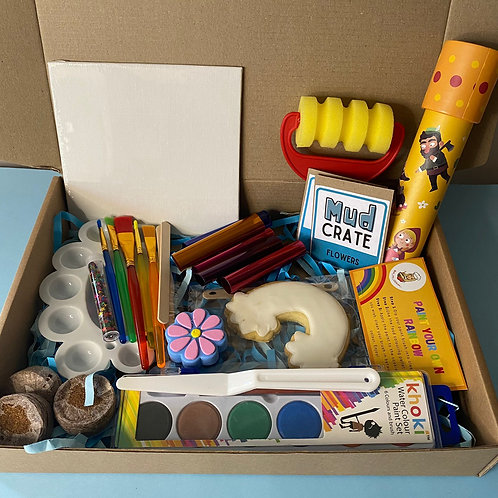 Mud Crate - Artist's Box