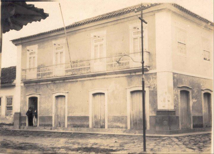 Antiga Prefeitura, entre 1920 e 1930