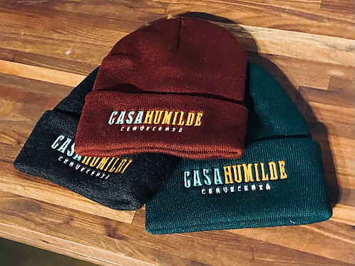 Casa Humilde Embroidered Beanie