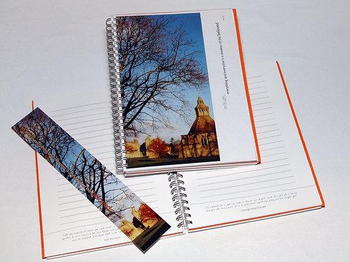 Sunset: Glastonbury Abbey: Inspirational Journal
