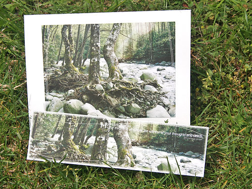 Reminders of Winter Days: Greeting Card