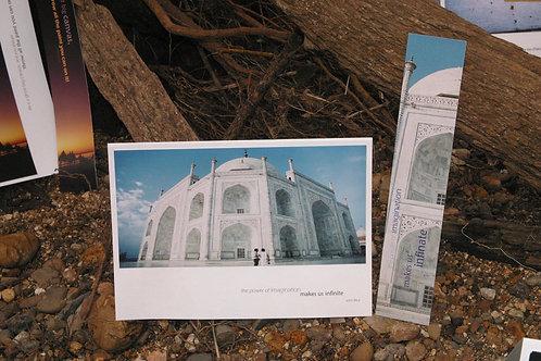 Taj Mahal: Greeting Card