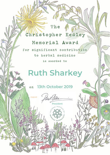 Ruth Sharkey - Christopher Wakley award