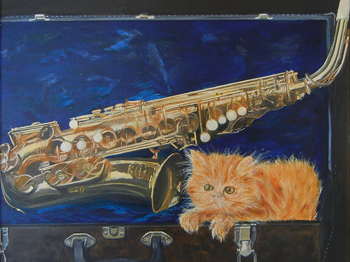 Sax Kitten