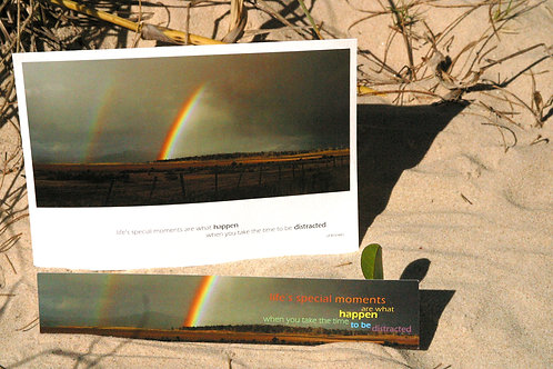 Rainbow o'er the Midlands: Greeting Card