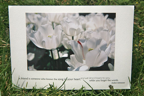 Imperfect Perfection: Photo Greeting Card