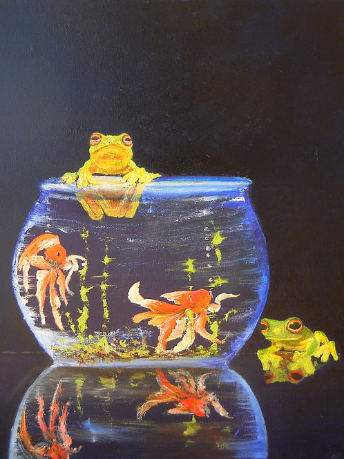 Frogs having Fun