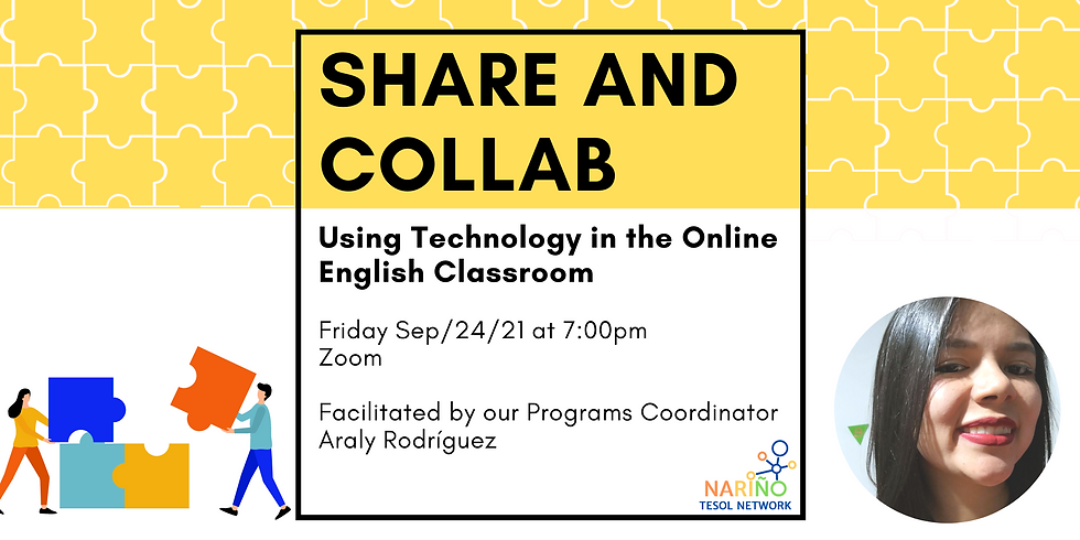 Share and Collab: Using Technology in the Online English Classroom