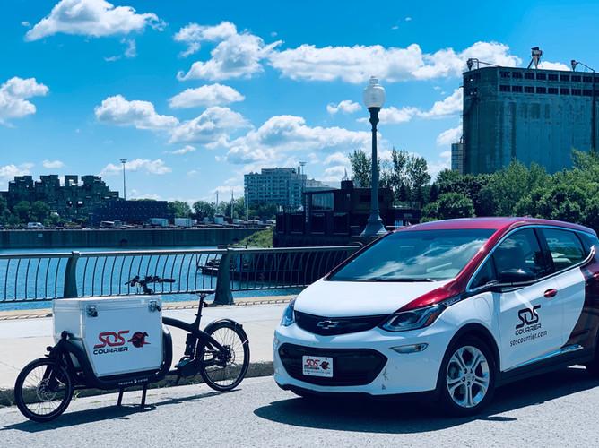 Bike & 100% electric car