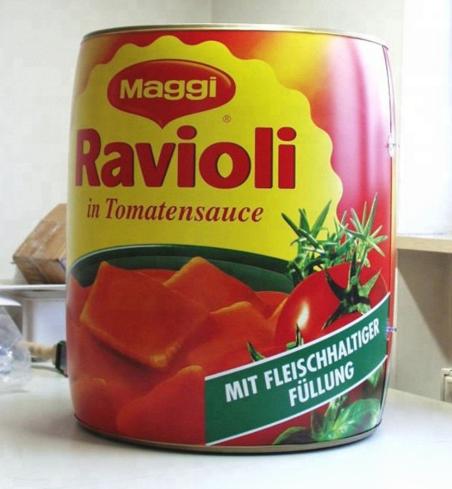 ravioli gonflable