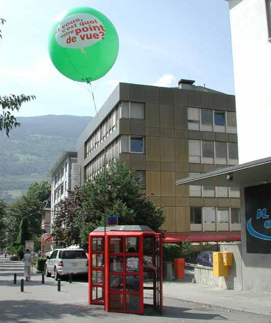 ballon Werbung
