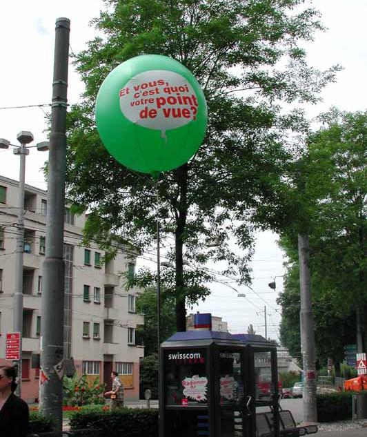 ballon publicitaire géant
