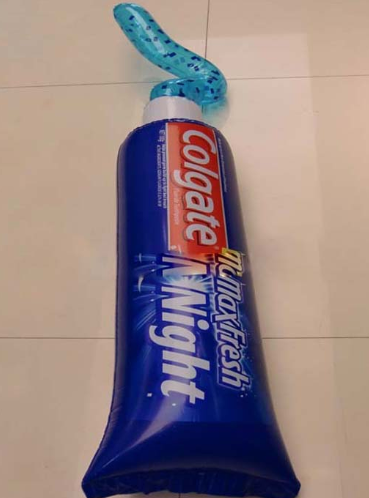 inflatable colgate