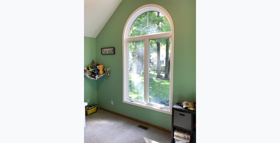 Beautiful Hudsonville bedroom window replacement project remodeled by Renew Home Improvement contractor