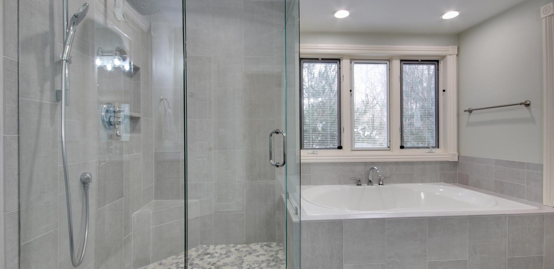 Full Grand Haven bathroom remodel