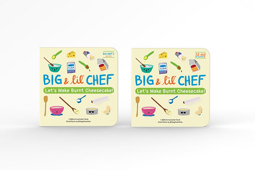 Big & Lil' Chef Children's Bake Books (Cheesecake Set)