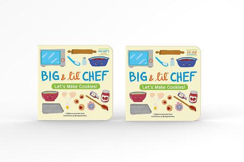 Big & Lil' Chef Children's Bake Books (Cookies Set)