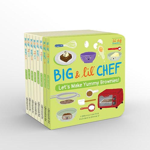Big & Lil' Chef Children's Bake Books (Full Set)