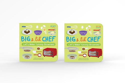 Big & Lil' Chef Children's Bake Books (Brownies Set)