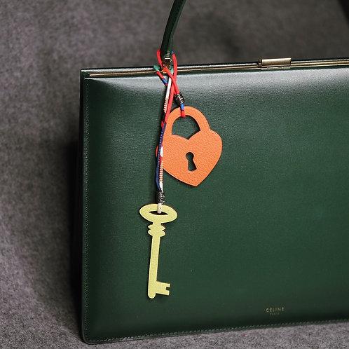 Lock & Key Set Charm